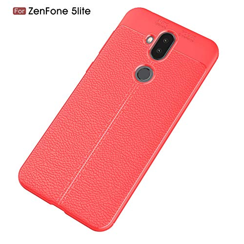 XHD-screen protector for Zenfone Series Mobile Phone Case TPU Leather Case with Back Cover for Zenfone 5lite (Color : -