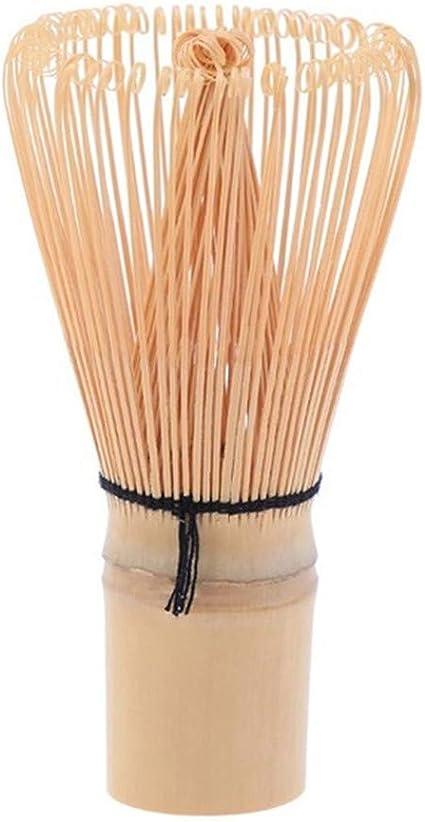 herramienta para batir matcha 48 puntas DIYARTS Batidor Matcha de bamb/ú de 120 puntas hecho a mano tradicional de t/é verde en polvo