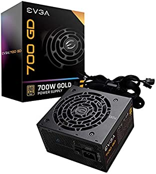 EVGA 700 GD 80+ Gold 700W Certified Non-Modular Active PFC Power Supply