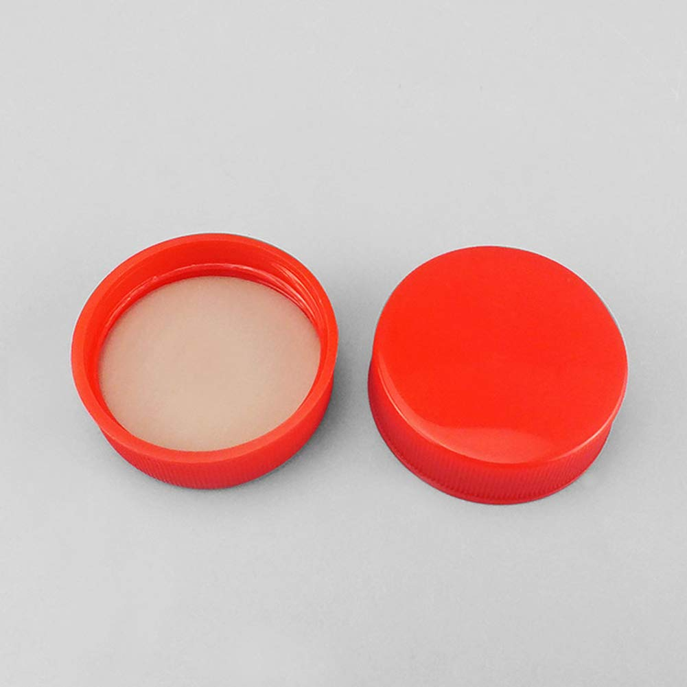 Polypropylene D47/×H12.5mm LSHEL Seal Screw Caps PE//PTFE Inner Liner Top Replacement Cap Pack of 20 Black Universal Bottle Cap Lab Cap Plugs GL44 Thread