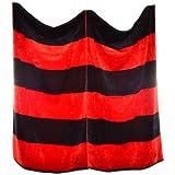 Nautica Rugby Stripe Orange 2-Piece Beach Towel Set