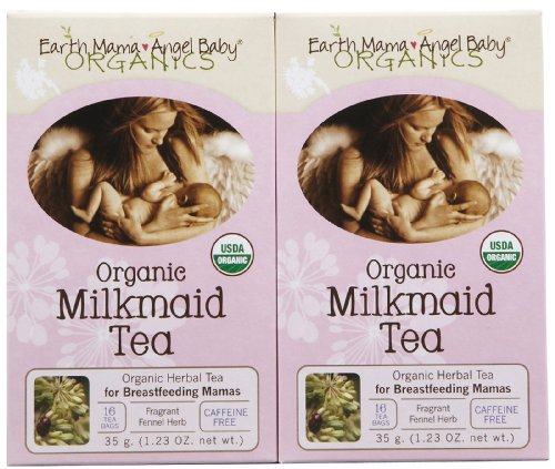 Earth Mama Angel Baby Organic Milkmaid Tea - 16 ct - 2 pk (Earth Mama Milkmaid Tea)