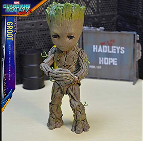 Guardians of the Galaxy Baby Groot Life-Size 1//1 HT Action Figure New In Box