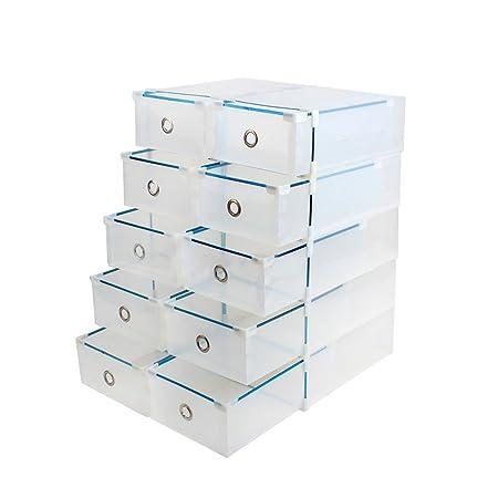Scarpiere Componibili In Plastica.Vinteky Cassettiera Componibile Con 10 Cassetti In Plastica