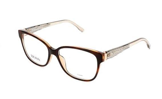 BOSS Hugo Brille Monturas de gafas, Marrón (Braun), 53.0 ...