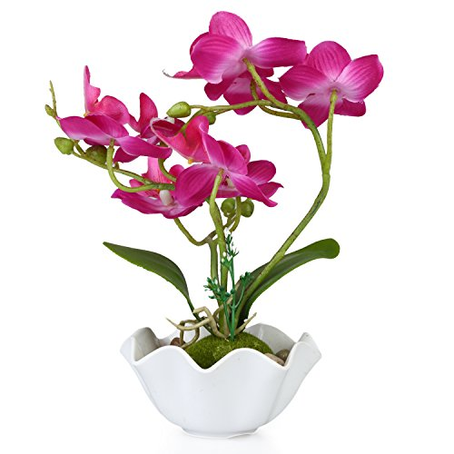 Decorative Artificial Phalaenopsis Orchid Flower