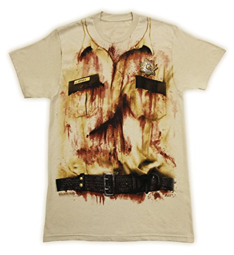 The Walking Dead- Ricks Costume T-Shirt Size M