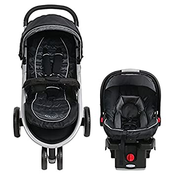 Baby Stroller And Car Seat Combo Premium Lightweight Pram Travel System Graco Click N Connect Jogger