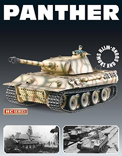 Taigen Panther Ausf A (Plastic Version) 12070 Airsoft 2.4Ghz RTR RC Tank 1/16th Scale