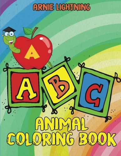 ABC Animal Coloring Book: Alphabet Coloring Pages for Kids (Early ...