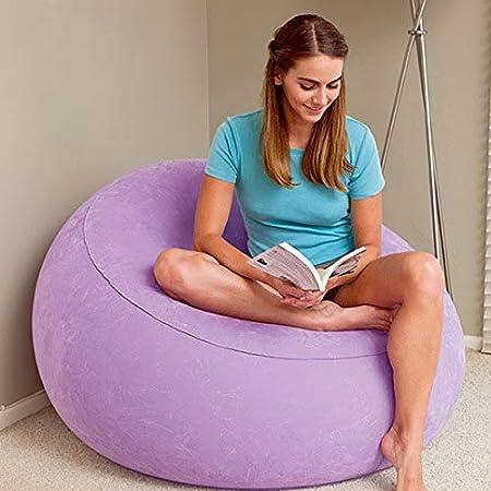 Amazon.com: Sofá hinchable para uso doméstico, sofá de playa ...