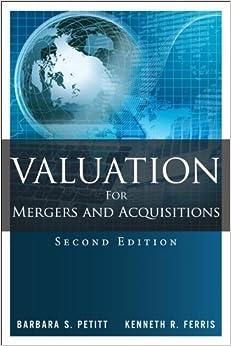 Valuation For Mergers And Acquisitions PDF Descargar Gratis