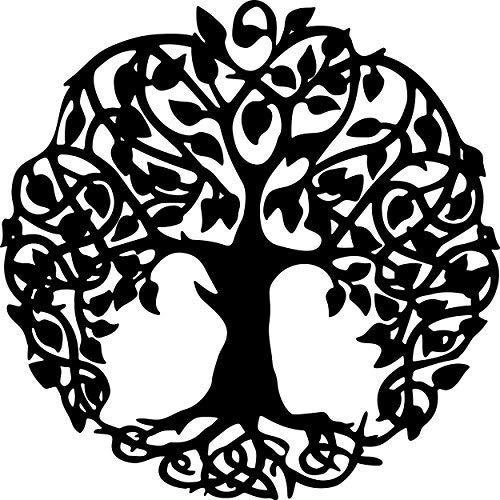 (AJD Designs Tree of Life Metal Wall Art Metal Art)