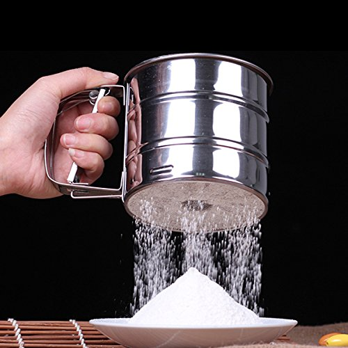 free-shipping-stainless-steel-mechanical-baking-icing-flour-sugar-sifter-shaker-acero-inoxidable-for