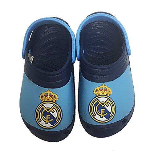 Real Madrid Clogs Light Blue