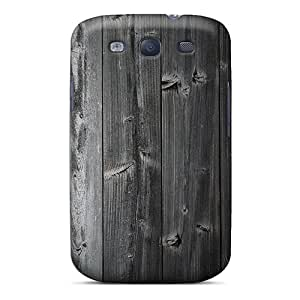 Excellent Design Wood Wall 3 Phone Case For Galaxy S3 Premium Tpu Case
