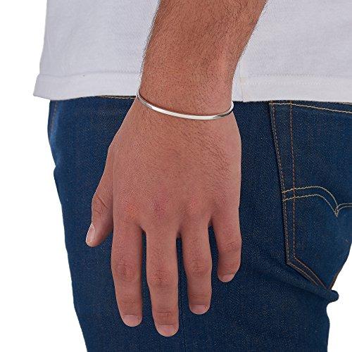 Arque - Bracelet - Plaqué argent - 14.6 cm - CUB-A041S