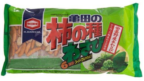 Kameda Kakinotane 6PK Wasabi, 5.3-Ounce
