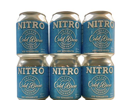 Cold Brew Coffee Co. - Nitro Cold Brew Coffee - 12 pack