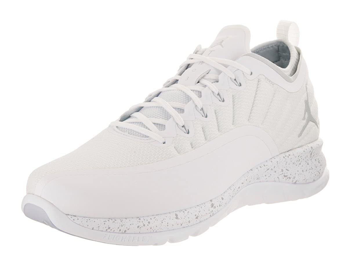 Amazon.com  Jordan Nike Men s Trainer Prime White Pure Platinum Training  Shoe 9.5 Men US  Shoes 3d26f249a2