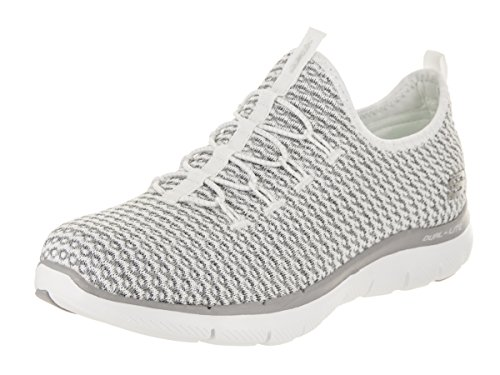 Skechers 12904 Womens Sneakers White/Gray lr0Kw