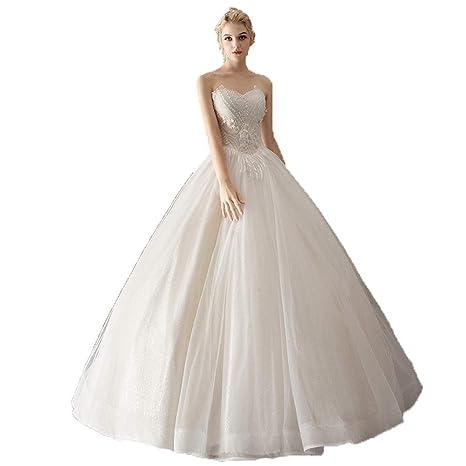 Vestidos de novia Las mujeres sin tirantes de novia con ...