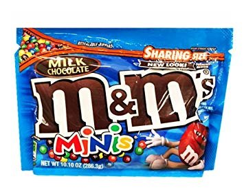 M&MS Milk Minis, 12.00 oz packages (pack of 4) ()