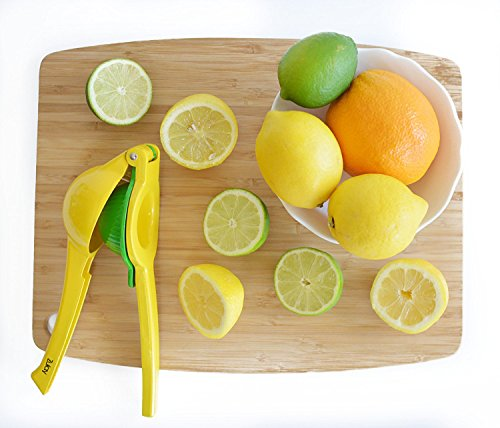 Best Lime Juicer ~ Top rated zulay premium quality metal lemon lime squeezer
