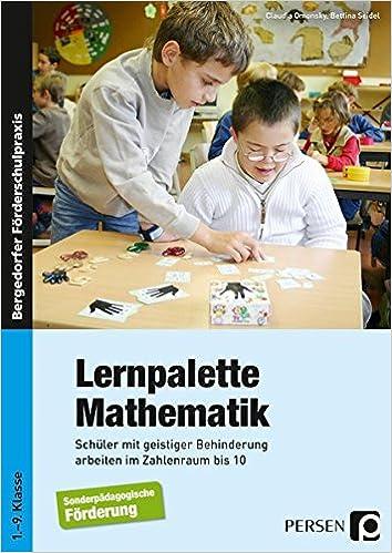 Lernpalette Mathematik: Schüler mit geistiger Behinderung arbeiten ...
