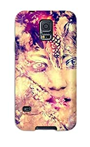 Anti-scratch And Shatterproof Old Painting Phone Case For Galaxy S5/ High Quality Tpu Case