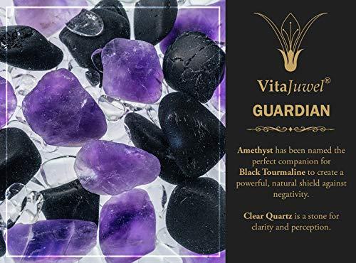 VitaJuwel Era GemWater Decanter and Crystal Gemstone Vial - Guardian by VitaJuwel (Image #4)
