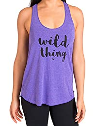 Inner Fire Women's Laughing Yoga Tank Tops – Hand Printed – Soft & Breathable