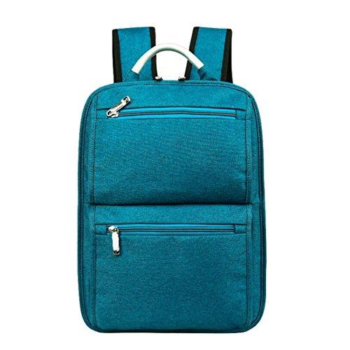 Hombres De Negocios De Moda Y Las Mujeres Bolsa De Ordenador Bolsa De Hombro Bolsa De Gran Volumen Bolsa De Viaje Al Aire Libre Simple Salvaje Blue