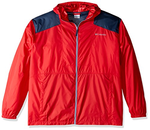 Columbia Men's Flashback Big and Windbreaker, Mountain Re...
