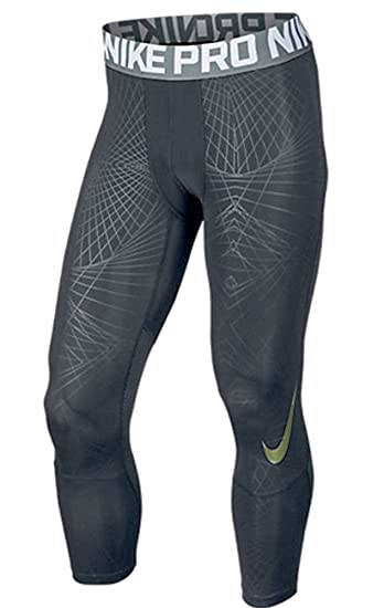 ae733ed1 Nike Men's PRO Hypercool 3.0 Compression Tights 821683 (Large, Anthracite/Wolf  Grey/