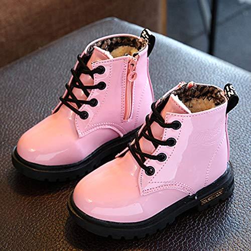 Nieve De Impermeable Invierno Sneaker Agua Rosado Botas Zapatos Moda Wellington Casuales Navidad Jiameng Bebé Lluvia Gruesa qHUBSpnw