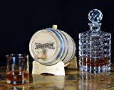 Engraved Moonshine Oak Barrel (B525) (20 Liter)