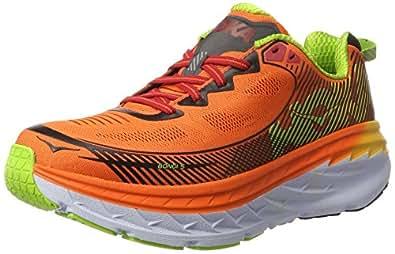 Hoka One One Bondi 5, Zapatillas de Running Hombre, Naranja (Red Orange/Gold Fusion), 42 2/3 EU