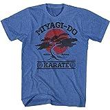 Karate Kid Miyagi-Do It Again Licensed Adult T Shirt