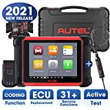 Autel MaxiCOM MK906BT Automotive Scanner with MV105, 2021 Newest Version of Maxisys MS906BT/MS908/MK908, OBD2 Scan Tool with ECU Coding, All System Diagnostics, Bi-Directional Control, 31+ Services