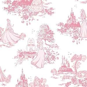 Disney papel pintado para pared dise o de princesas for Papel pintado amazon