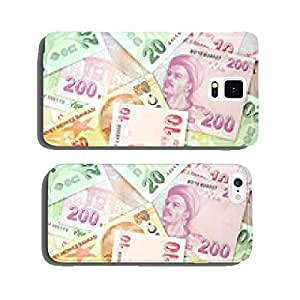 Turkish banknotes. Turkish Lira ( TL ) cell phone cover case Samsung S5