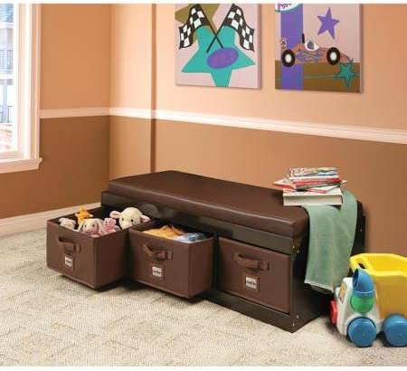 Genius This Beautiful Kids Leather Style Padded Bench
