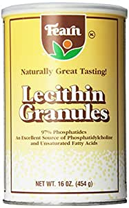 Fearn Natural Foods Lecithin Granules, 16 Ounce