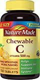 Cheap Nature Made Chewable Vitamin C 500mg, 150 Tablets (Pack of 3)