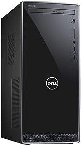 Dell Inspiron 3670 Desktop Computer | Intel Core i5-8400 2.8GHz, 6 Core | 12GB DDR4 Memory | 1TB HDD+16GB Optane SSD Memory | DVD/RW | WiFi+Bluetooth, HDMI | Windows 10 Home