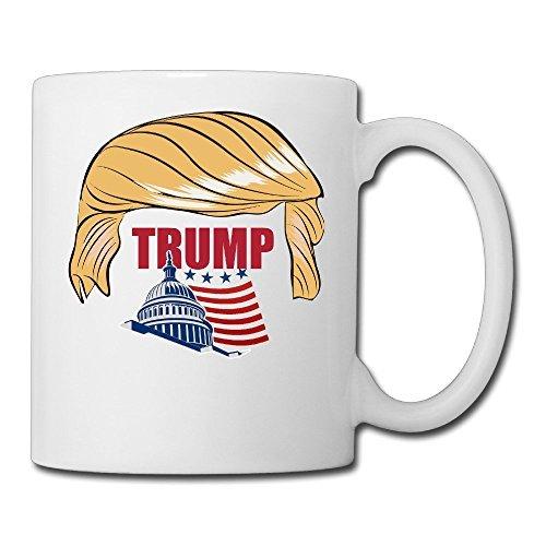 Donald Trump Ceramic Tea Mugs White - Sunrise Macys