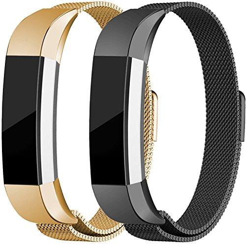 Image result for Maledan Fitbit Alta Metal Band