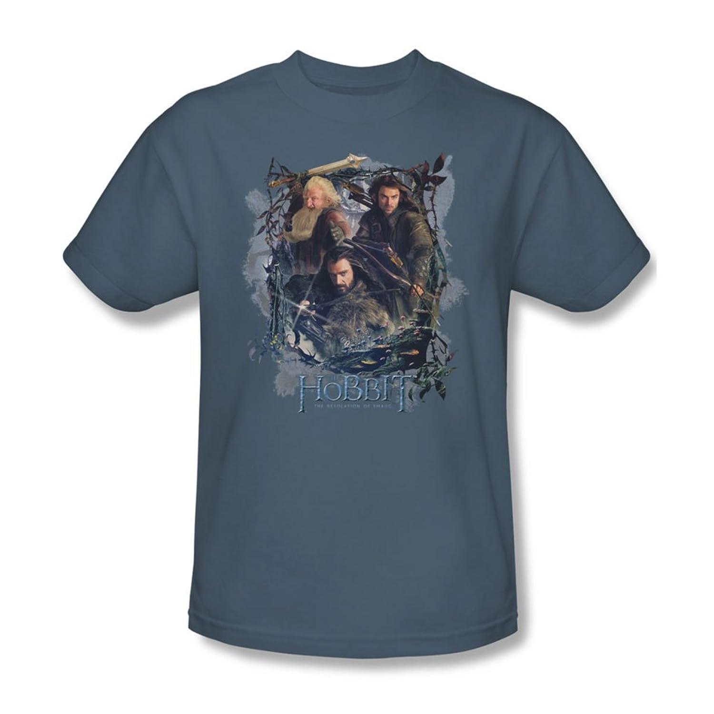 Hobbit - Mens Three Dwarves T-Shirt