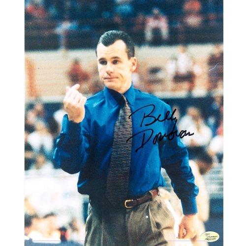 Billy Donovan Autographed Florida Gators (Coaching) 8x10 Photo